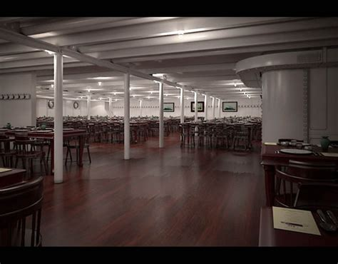 Titanic Third Class Dining Room by Third Class Dining Room Titanic Ii Set To Sail In 2018