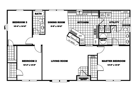 clayton manufactured homes floor plans clayton homes floor plans house mobile bestofhouse net 32500