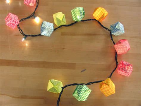 How To Make Paper Lanterns With Lights - how to make your own decorations