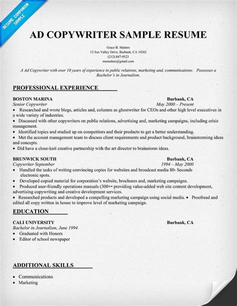 Sle Copy Of Resume by 21724 Copy Of A Resume Format 2 Ken Radcliffe S Copy