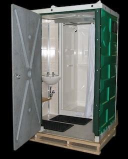 shower units toilets