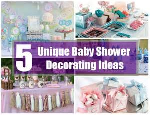 How to find unique baby shower decorating ideas baby shower