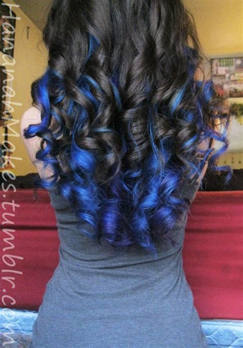 hairstyle with dark color underneath underneath hair dyed blue google search hair dye