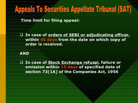 section 11 of the securities act sebi compliances and penalty 13 11 05 jaipur