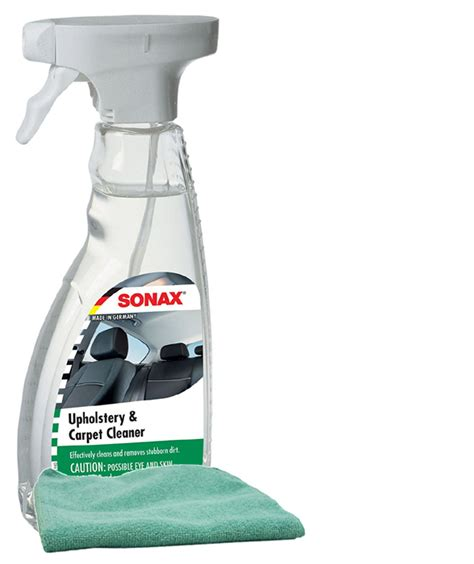 Upholstery Cleaner For Microfiber by Sonax Upholstery Carpet Cleaner 16 9 Oz Microfiber