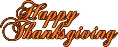 happy thanksgiving banner clipart clipartsgram