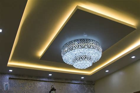 False Ceiling Lights 5bhk Villa Interiors Of Mrs Vasiya Aleem Bonito Designs