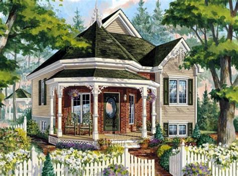 small victorian cottage plans house plan 49907 at familyhomeplans com
