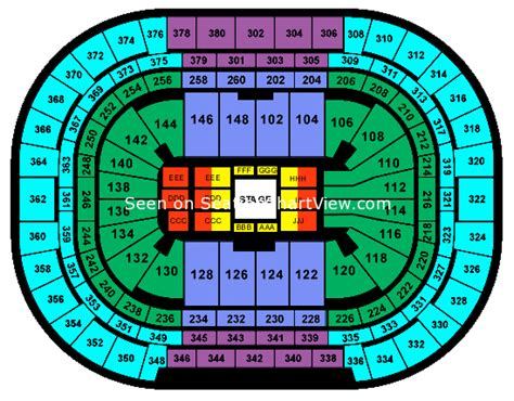 pepsi center seating chart concert pepsi center denver co seating chart view