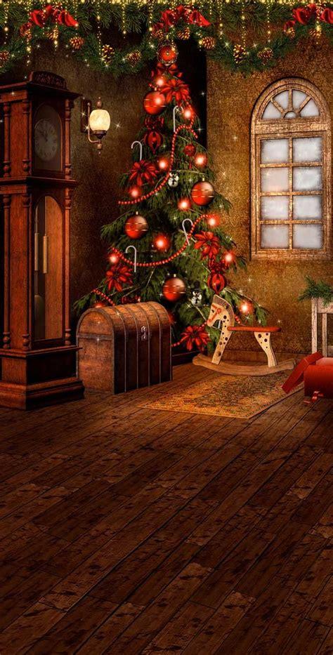 victorian christmas backdrop  backdrop outlet