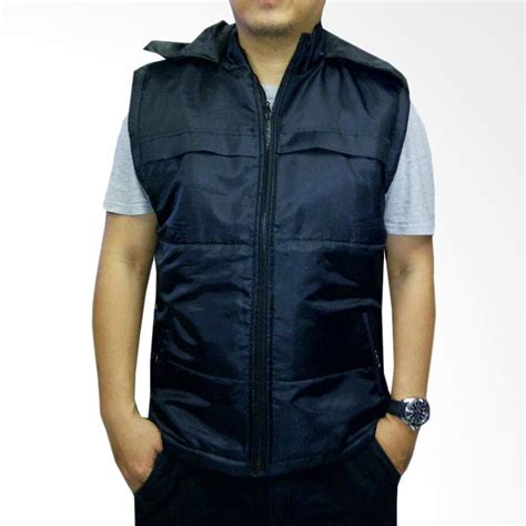 desain jaket rompi jual vm hoodie rompi hitam jaket pria online harga