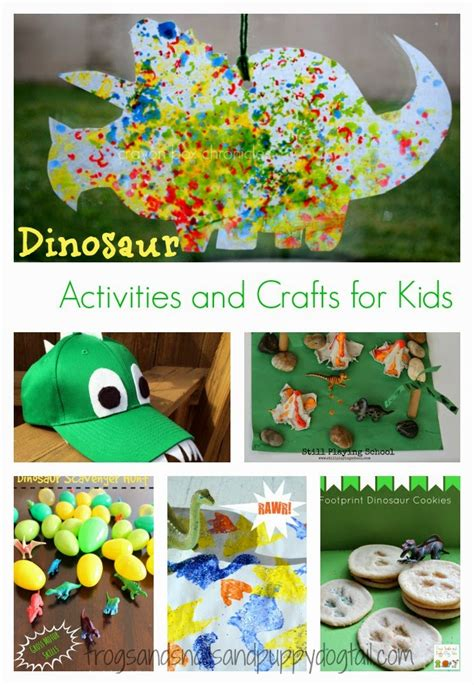Dinosaur Activities And Crafts For Fspdt
