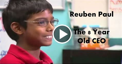 world s smartest this 8 year ceo reuben paul has to be the worlds smartest kid