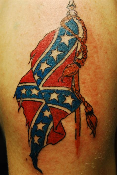flag tattoo my designs confederate flag tattoos