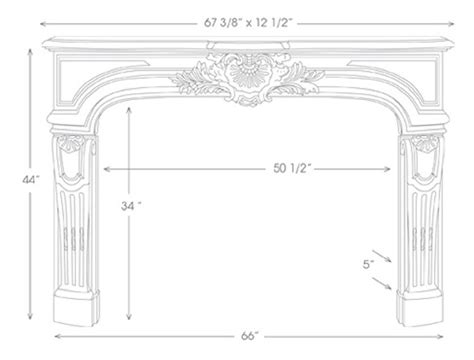 Fireplace Mantle Height by Fireplace Mantel Height With Fireplace Mantel Height