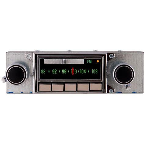 corvette radio 1969 71 corvette am fm bluetooth 174 radio autoware