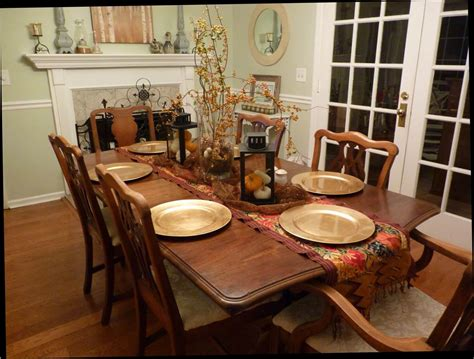 how to decorate dining room table inspirational how to decorate a dining room table for fall