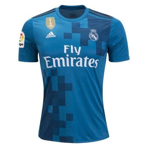 Jersey Bola Real Madrid Away New 17 18 Grade Ori Murah real madrid 17 18 third jersey cristiano ronaldo 7 tnt