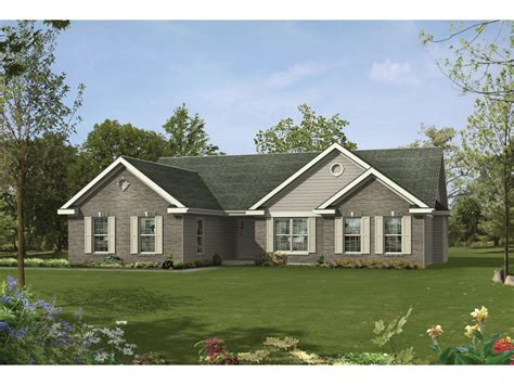 traditional ranch house plans bakersport traditional home plan 058d 0060 house plans
