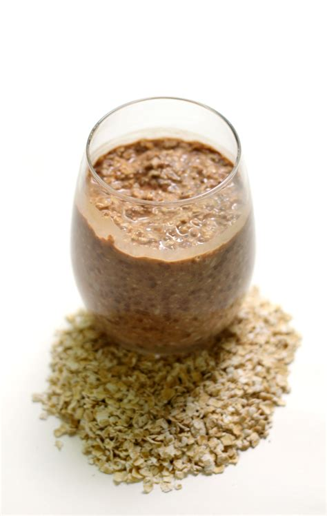 protein overnight oats chocolate protein overnight oats
