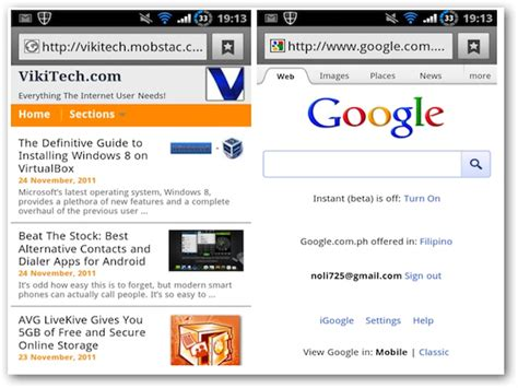 android browser best alternative web browsers for android beat the stock series