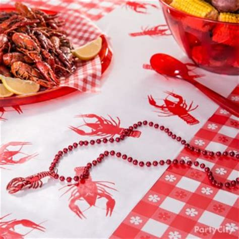 Crawfish Boil Decorations by Crawfish Centerpiece Idea Cajun Crawfish Boil Ideas