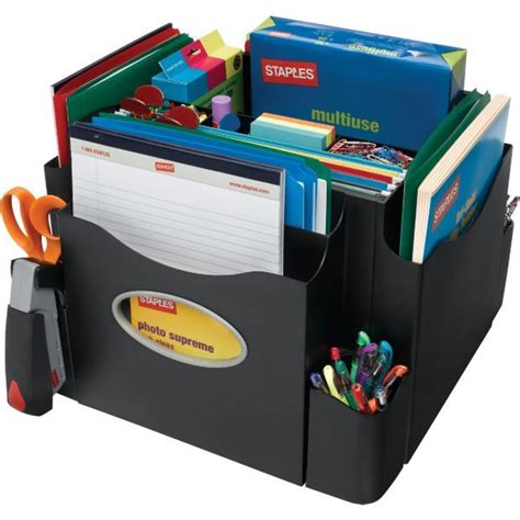 School Desk Organizer Office Supplies Printer Ink Toner Electronics Computers Printers Office Furniture Staples
