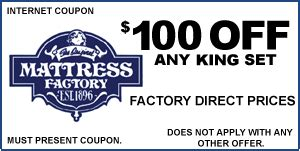 Mattress Factory Coupons by Coupons