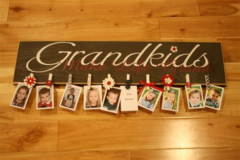 Personalized Signs For Home Decorating by Great Gift Idea For Grandparents We Know How To Do It