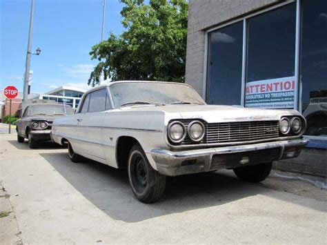 64 impala white aksarbent 64 impala for sale white 2dr ht 327 v8