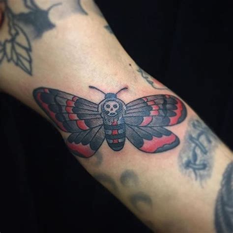 california electric tattoo moth by electric tiger
