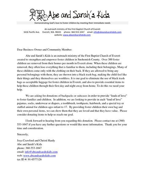 sample church donation letter donation request letter