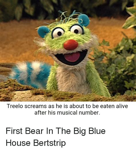 blue house music 25 best memes about bear in the big blue house bear in