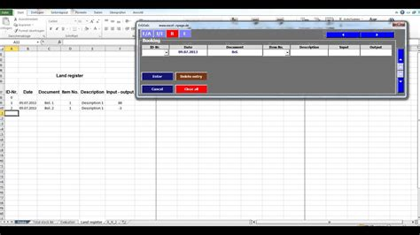 Stock Program Inventory With Pictures Images In Excel Vba Youtube Excel Vba Templates Free