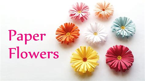 Paper Craft For Flowers - craft paper flowers find craft ideas