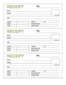 receipt templates print paper templates