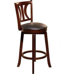 houston 24 swivel counter height stool mahogany