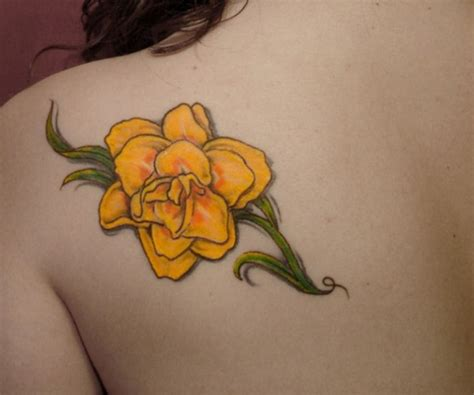yellow rose tattoo yellow tattoos designs ideas and meaning tattoos