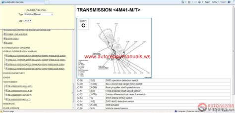mitsubishi pajero electrical wiring diagram bmw 5 series