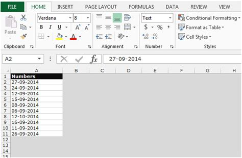 format date value in excel microsoft excel 2010 convert date to text format date