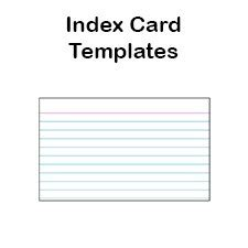 3x5 blank recipe card template printable index card templates 3x5 and 4x6 blank pdfs