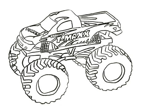 monster truck coloring pages coloring pages  print