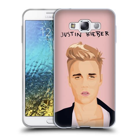 official justin bieber black and white soft gel case for official justin bieber justmojis soft gel case for samsung