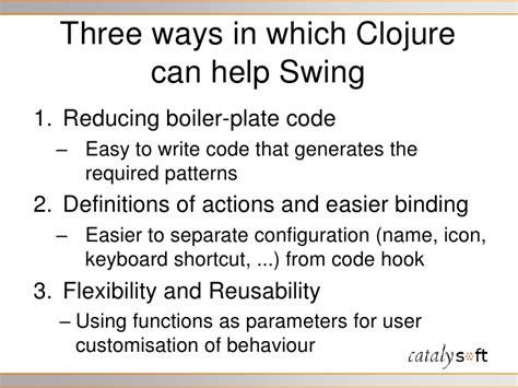 clojure swing clojure and swing