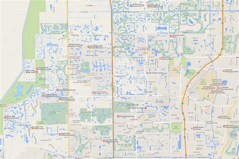boca raton map west boca elementary school grades morikami park waters edge lead west boca news