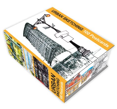 urban sketching 100 postcards 1631590219 urban sketching 100 postcards quarto gifts books