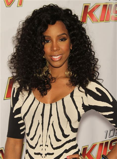 curly hairstyles kelly rowland kelly rowland beauty riot