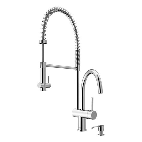 pull spray kitchen faucet vigo chrome pull spray kitchen faucet with soap