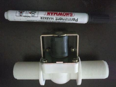 Kran Elektrik jual solenoid valve 3 4 inch murah kran elektrik