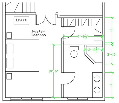 ensuite bathroom floor plans master ensuite layout